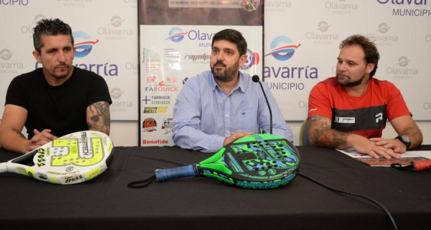Pádel: figuras del país disputarán la Copa Ciudad de Olavarría