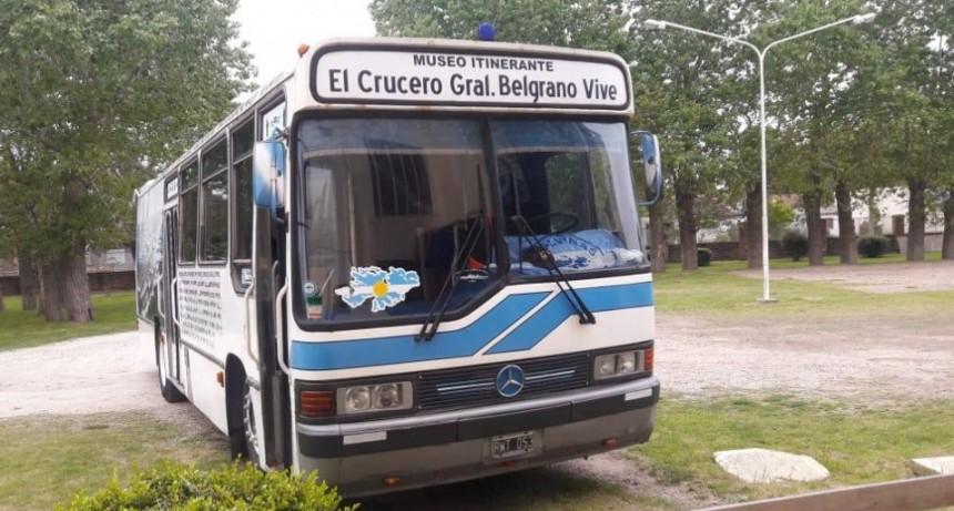 """Ya llega a Olavarría el Museo itinerante """"El Crucero General Belgrano vive"""""""