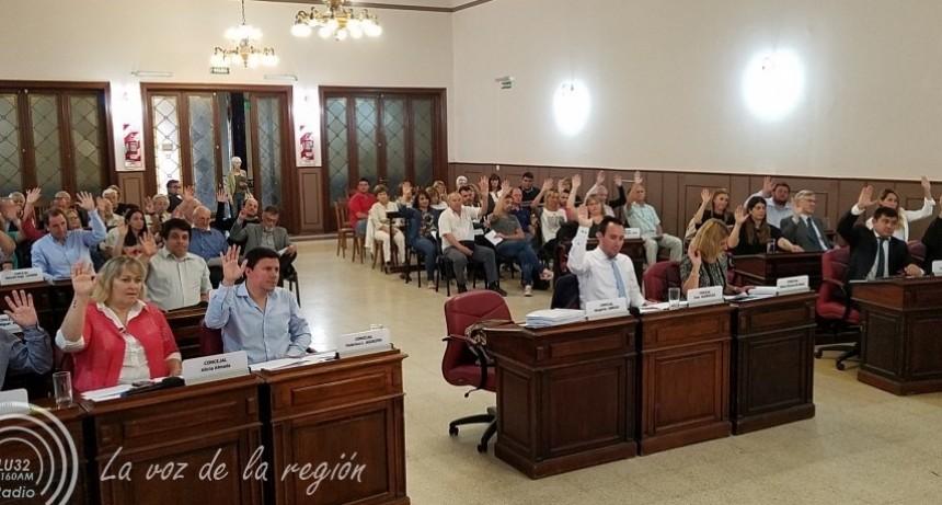 Concejo Deliberante: se realiza la tercera sesión del período 2019
