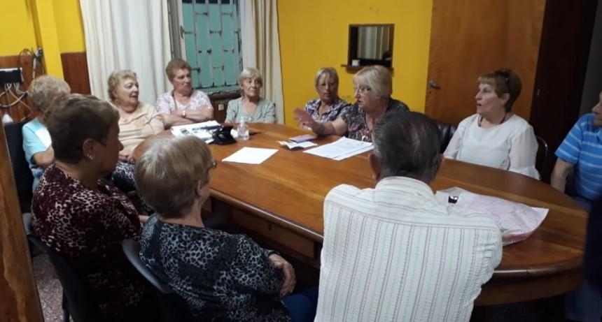 Reunión Informativa en el Centro De Jubilados y Pensionados Municipales
