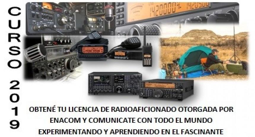 Abren curso para licencia de radioaficionado