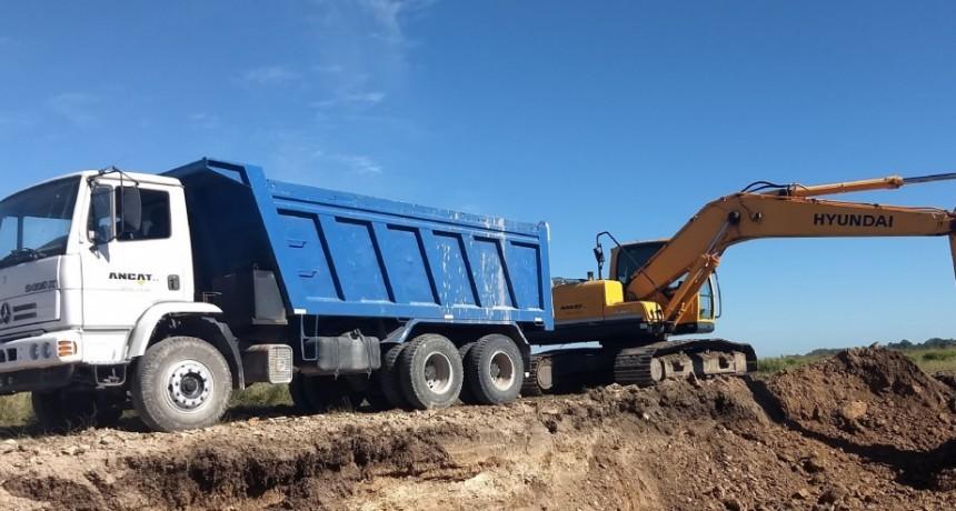 Finalizan las obras de entoscado en la zona de Iturregui