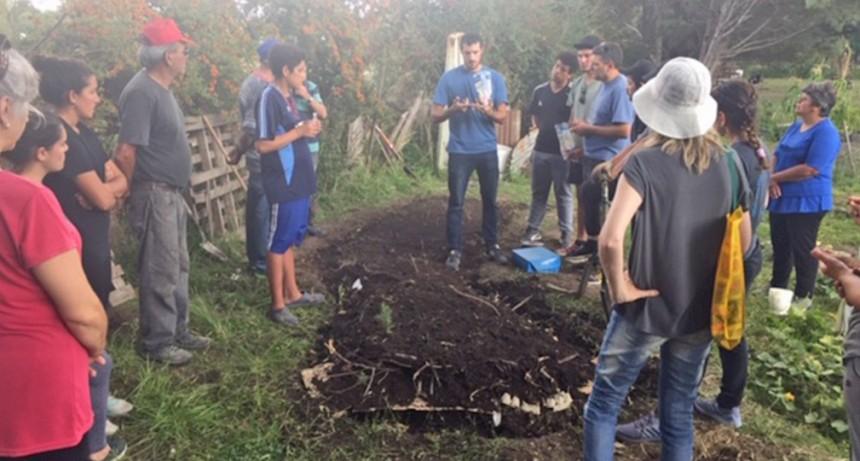 Un nuevo curso de Huerta Agroecológica se realizó con gran convocatoria