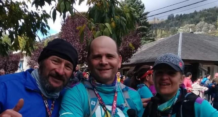 Corredores locales participaron en una carrera en San Martín de los Andes