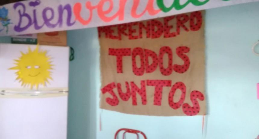 La Concejal  Delía visitó nuevamente el Merendero 'Todos Juntos' del barrio Mataderos