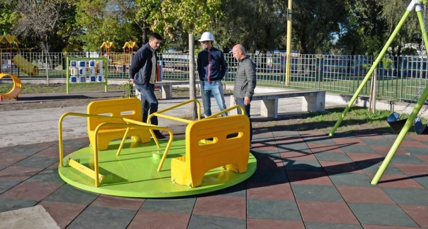 Remodelación de la plaza del Bicentenario