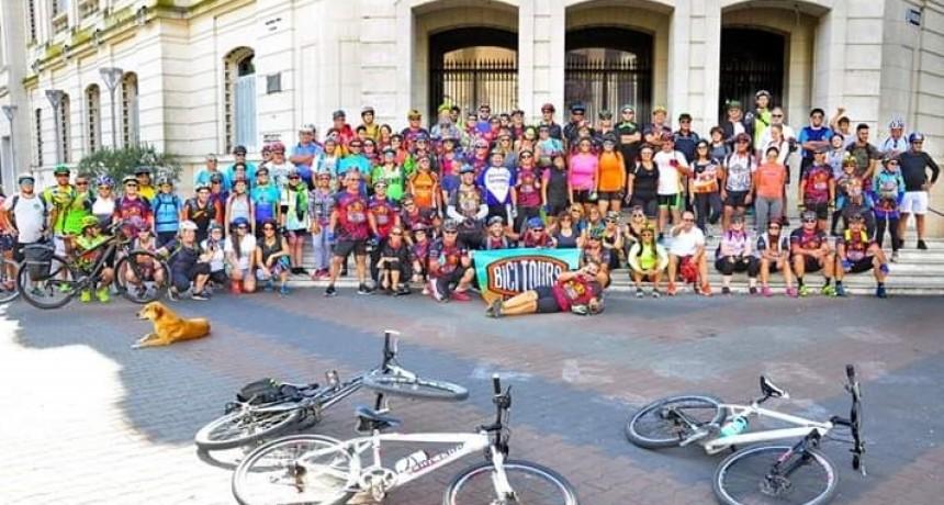 Nueva jornada de Cicloturismo con destino a Laguna Blanca Chica