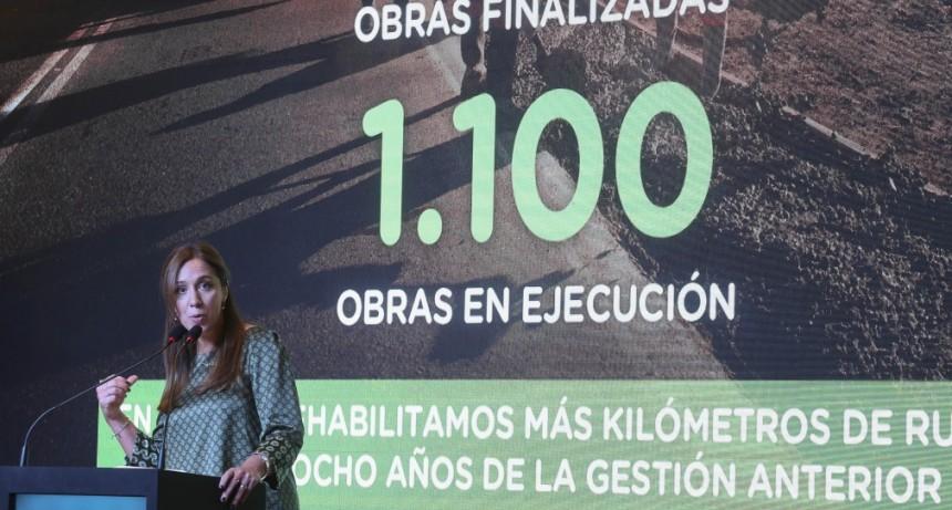 Vidal: 'los argentinos no quieren más atajos ni caminos fáciles'