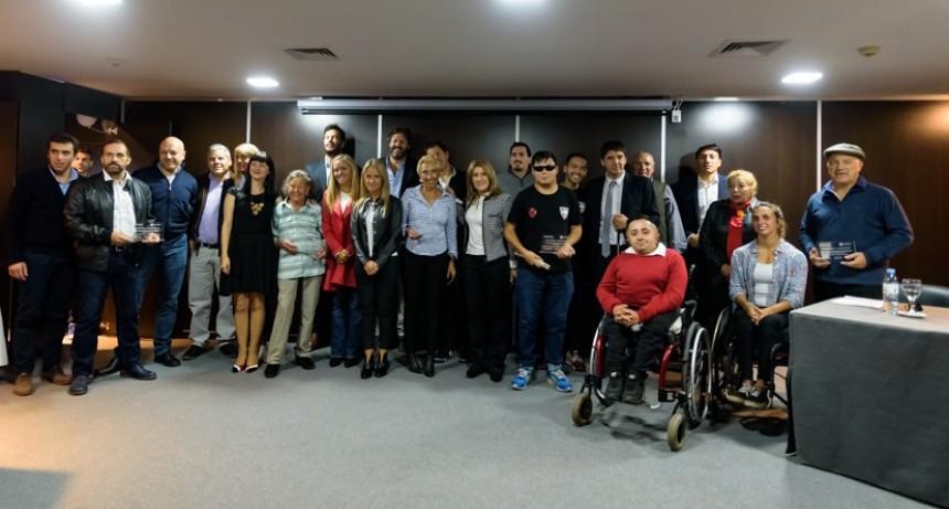 En Diputados entregaron reconocimientos a quienes a través del deporte superaron dificultades