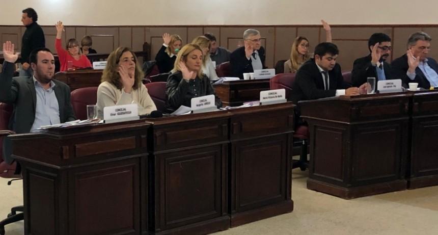 Concejo: Se desarrolló la cuarta sesión del año