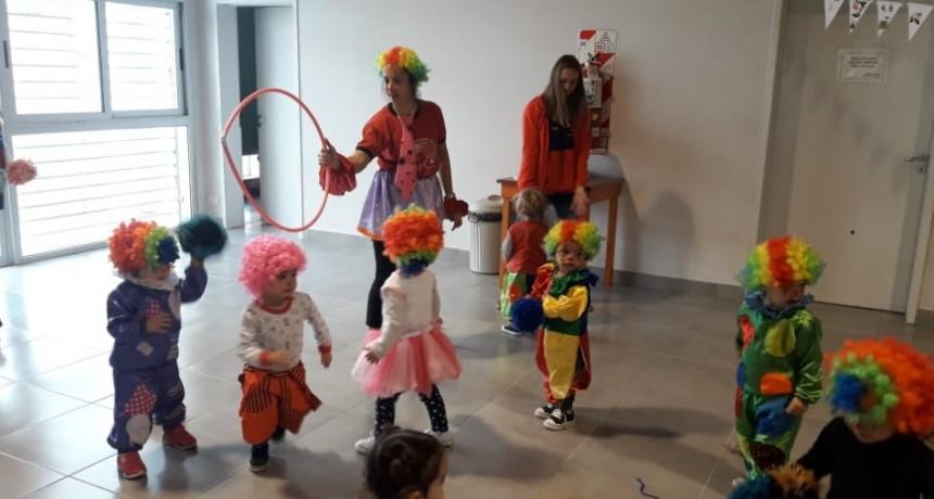 Promueven juegos para aprender en los maternales municipales