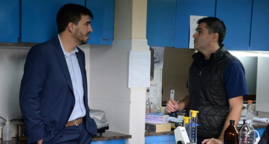 El Intendente se reunió con el nuevo director de Bromatología Andrés Castro