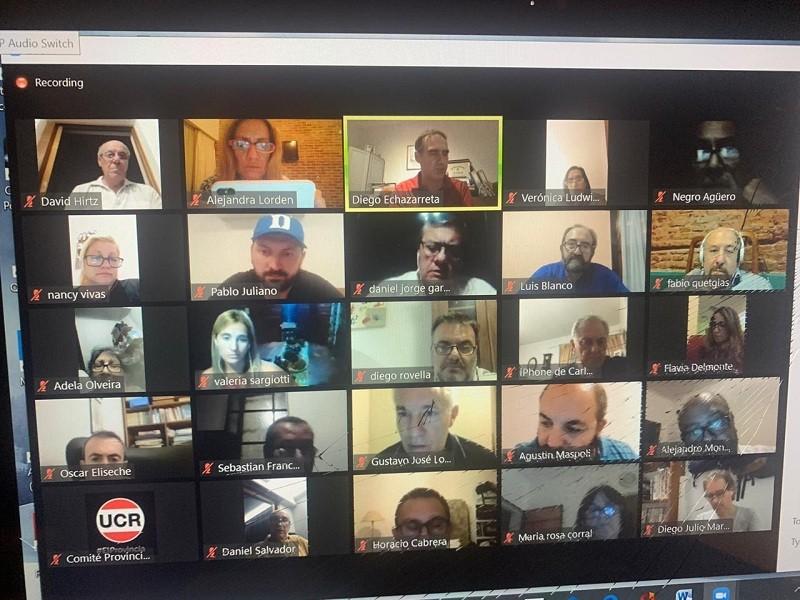 Teletrabajo: Lordén mantiene una nutrida agenda de reuniones