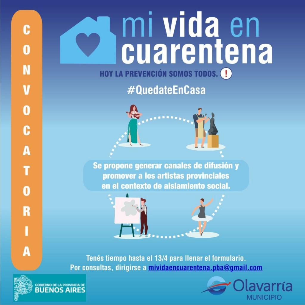 Convocan a artistas locales para 'Mi Vida en Cuarentena'