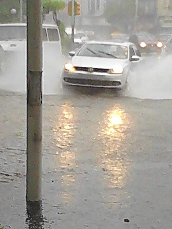Datos de lluvia  en la región