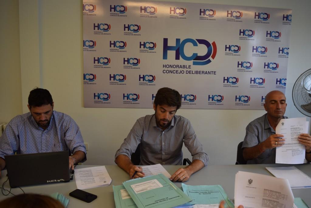 Reunión del HCD