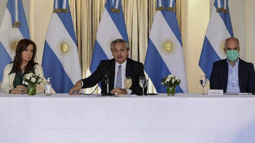 Alberto Fernández destacó que la oferta para reestructurar la deuda es