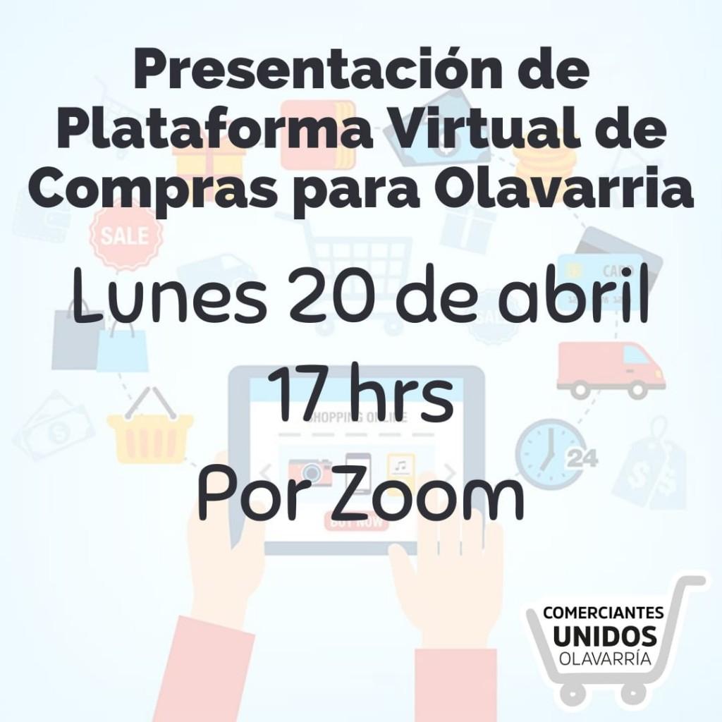 Comerciantes Unidos llama a reunión virtual por plataforma de compras