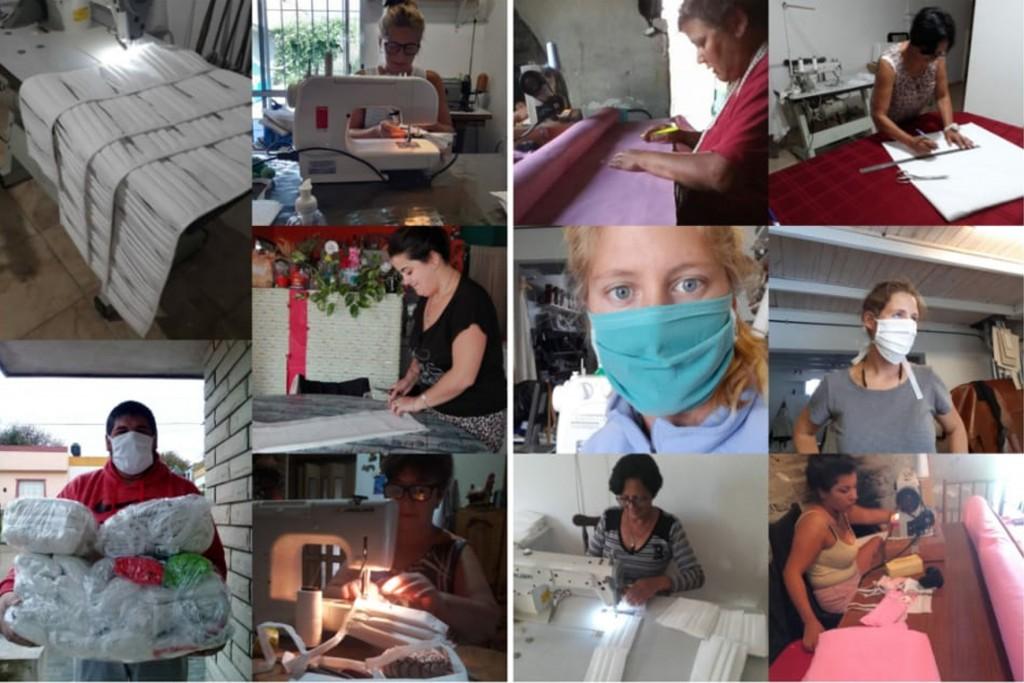 Barbijos: Emprendedoras Solidarias