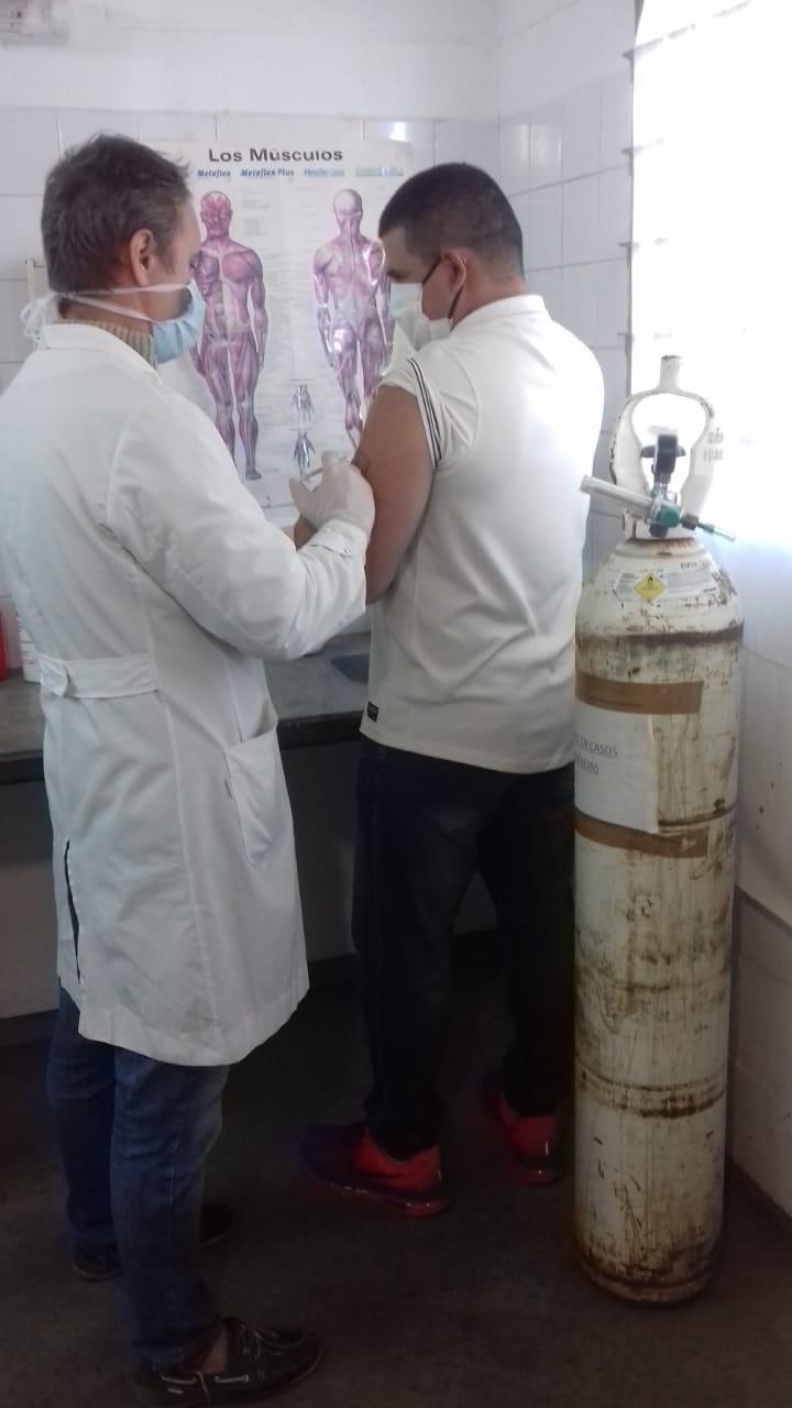 Comenzó la vacunación antigripal en las cárceles de Sierra Chica y Urdampilleta
