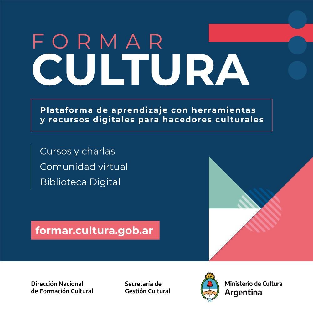 El Ministerio de Cultura de la Nación impulsa «Formar Cultura»