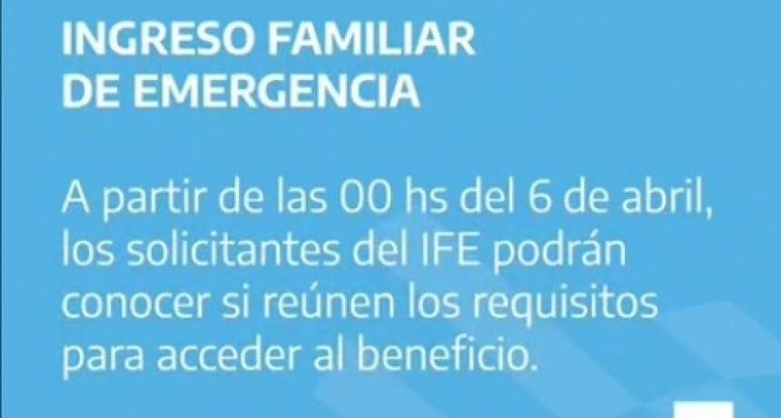 ANSES informa quienes cobran el IFE