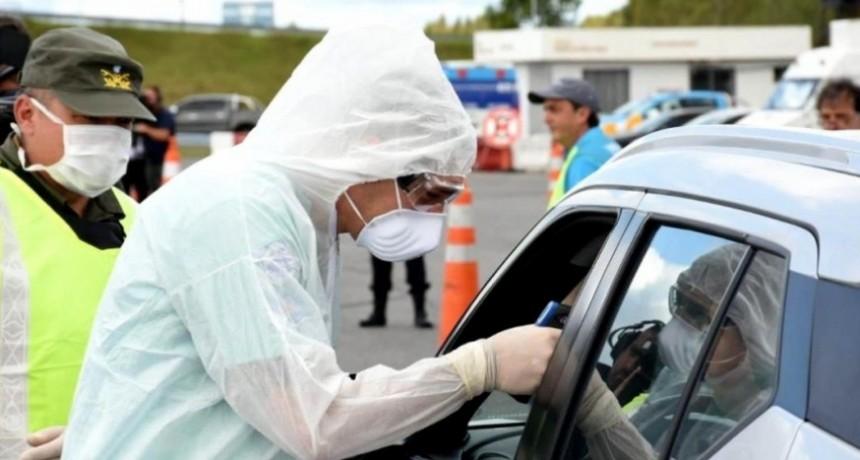 Coronavirus: controles sorpresivos en rutas para desalentar el turismo en Semana Santa