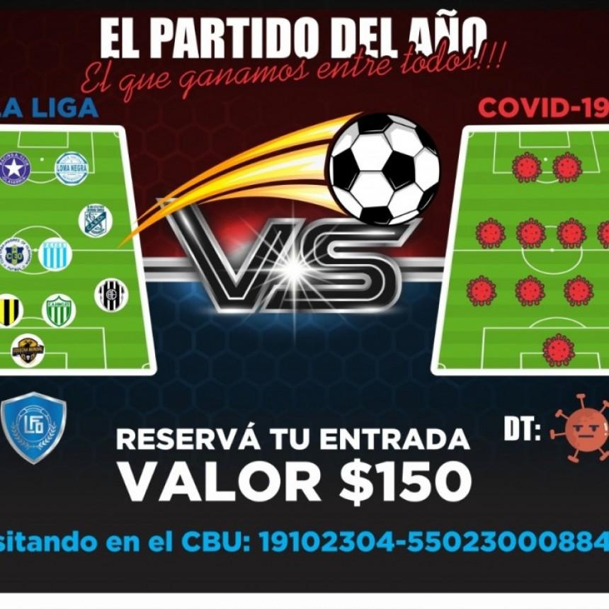 Fútbol Virtual a beneficio