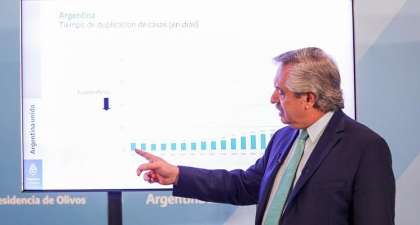 Fernández anunció que el aislamiento obligatorio sigue hasta el 26 de abril