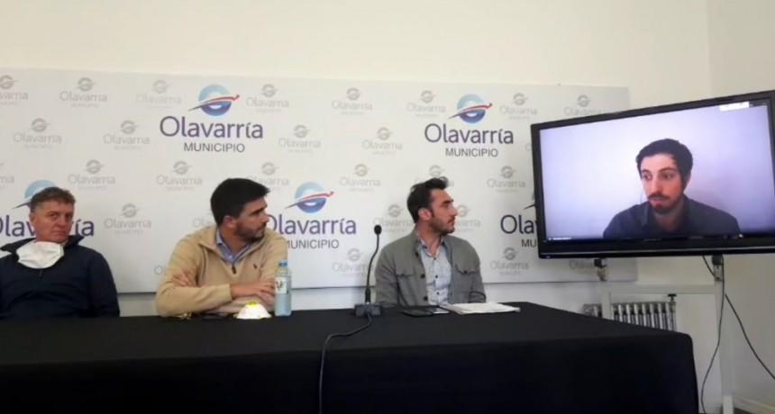 Olavarría: la Comuna presentó un sitio web para detectar COVID-19