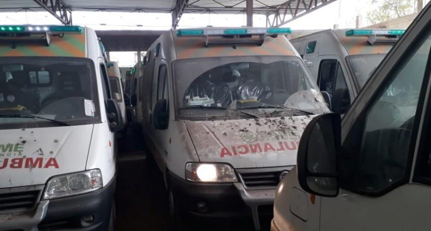 Desde el Ministerio de Salud denuncian que hallaron 24 ambulancias 'abandonadas' y sin pagar