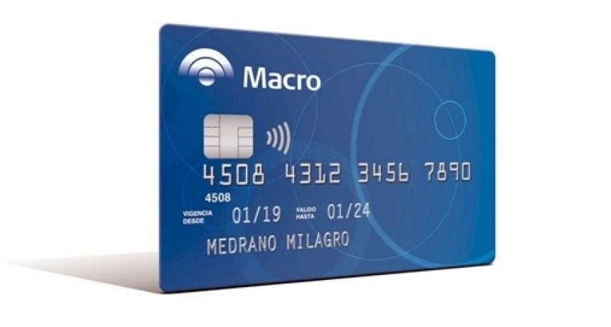 Banco Macro recuerda las disposiciones sobre pago de tarjetas