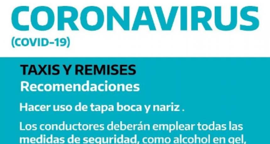 La Provincia envía 'recomendaciones' para remises, pero las Comunas definen si funcionan o no