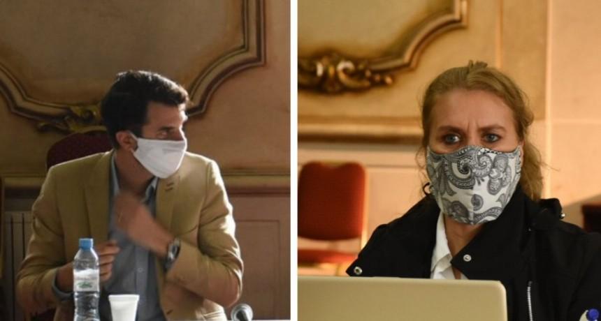 Carrara y Lordén reclaman que la Legislatura sesione