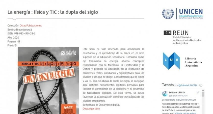 La UNICEN publicó libro de profesionales de la Facultad de Ingeniería