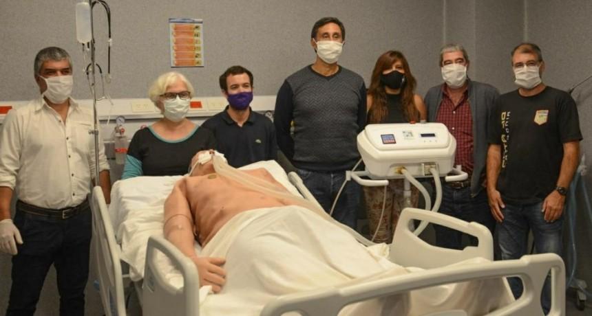 El respirador de la FIO superó una importante prueba