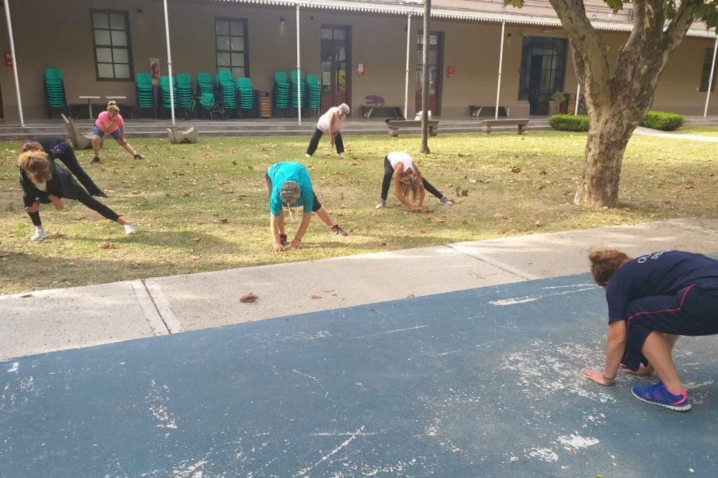 Inician las actividades físicas para Adultos Mayores
