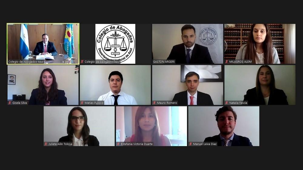 Segunda jura mensual del Colegio de Abogados Departamental