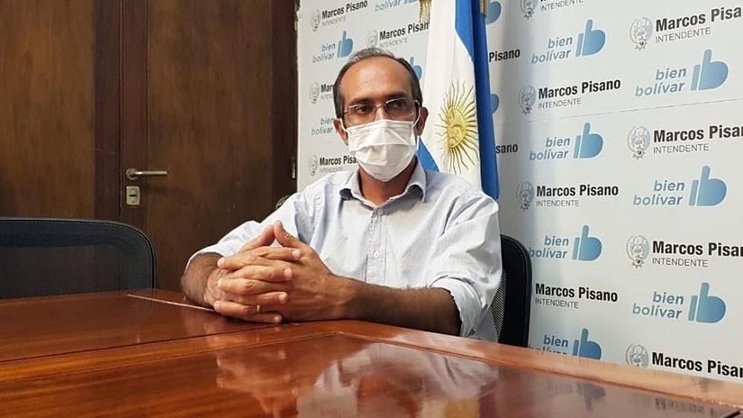 'Para Bolívar, Olavarría es una referencia en materia de salud'