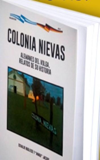 Se suspendió la presentación del libro 'Colonia Nievas Alemanes del Volga-Relatos de su Historia'