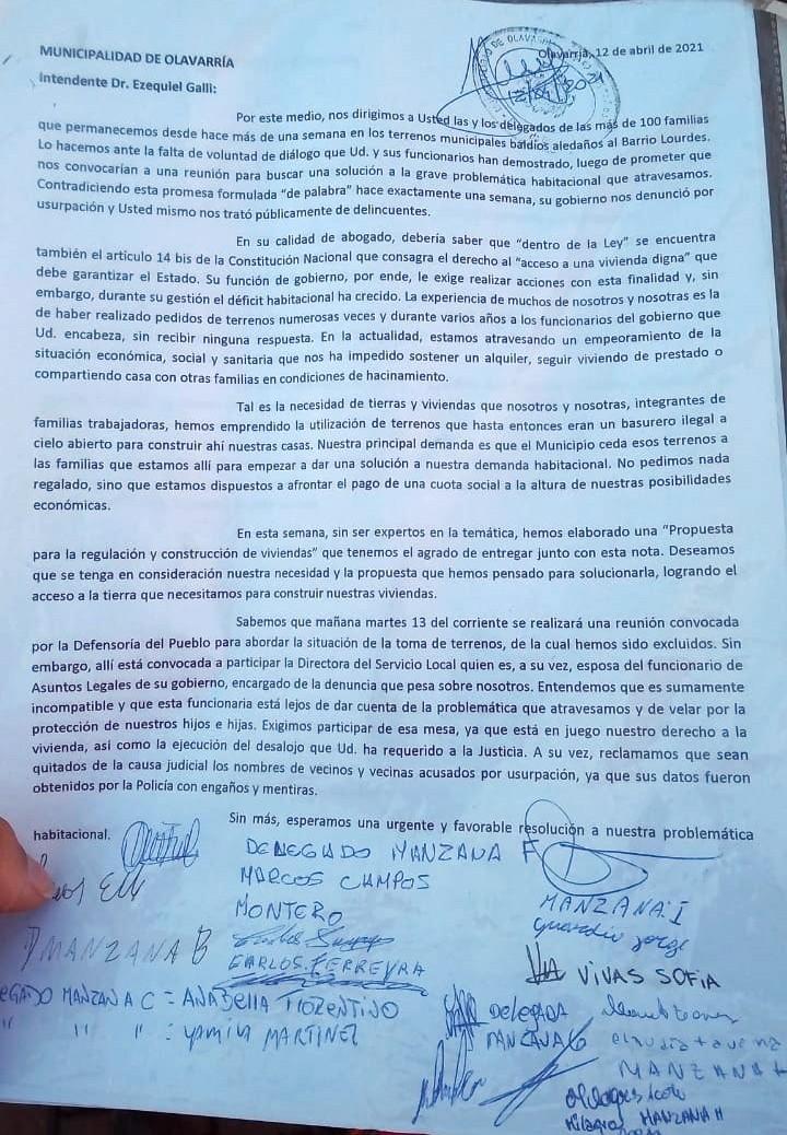 Barrio Lourdes: entregaron relevamiento y proyecto de construcción en el HCD