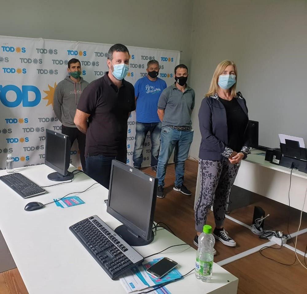 Cacace y Schwindt lanzaron la filial Azul de la Corriente Nacional de la Militancia