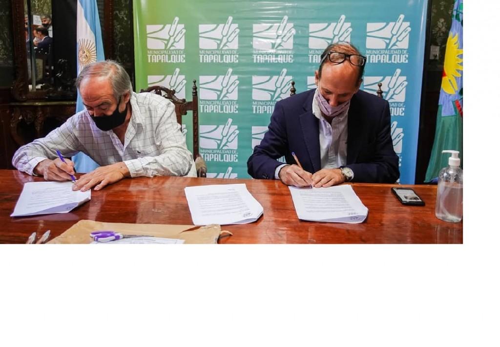 Tapalqué: avanza la gestión para la pavimentación de importantes arterias del distrito