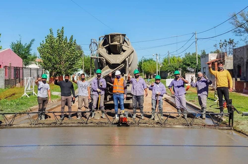 Nuevas obras de pavimentación para Tapalqué
