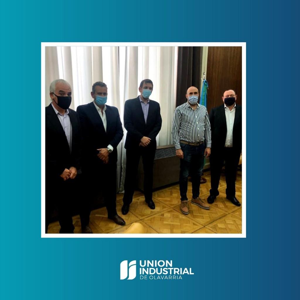 La Unión Industrial con reuniones en el Banco Provincia y en el Ministerio de la Producción
