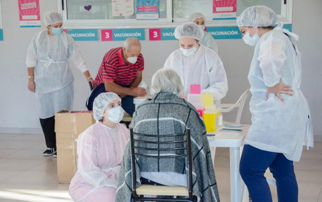 Hay unos 7000 olavarrienses de más de 60 años vacunados