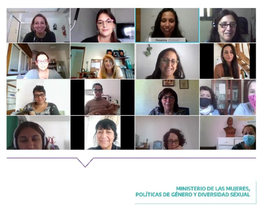 Hubo reunión del Consejo de Articulación de Políticas de Género y Diversidad Sexual con los municipios de la Séptima