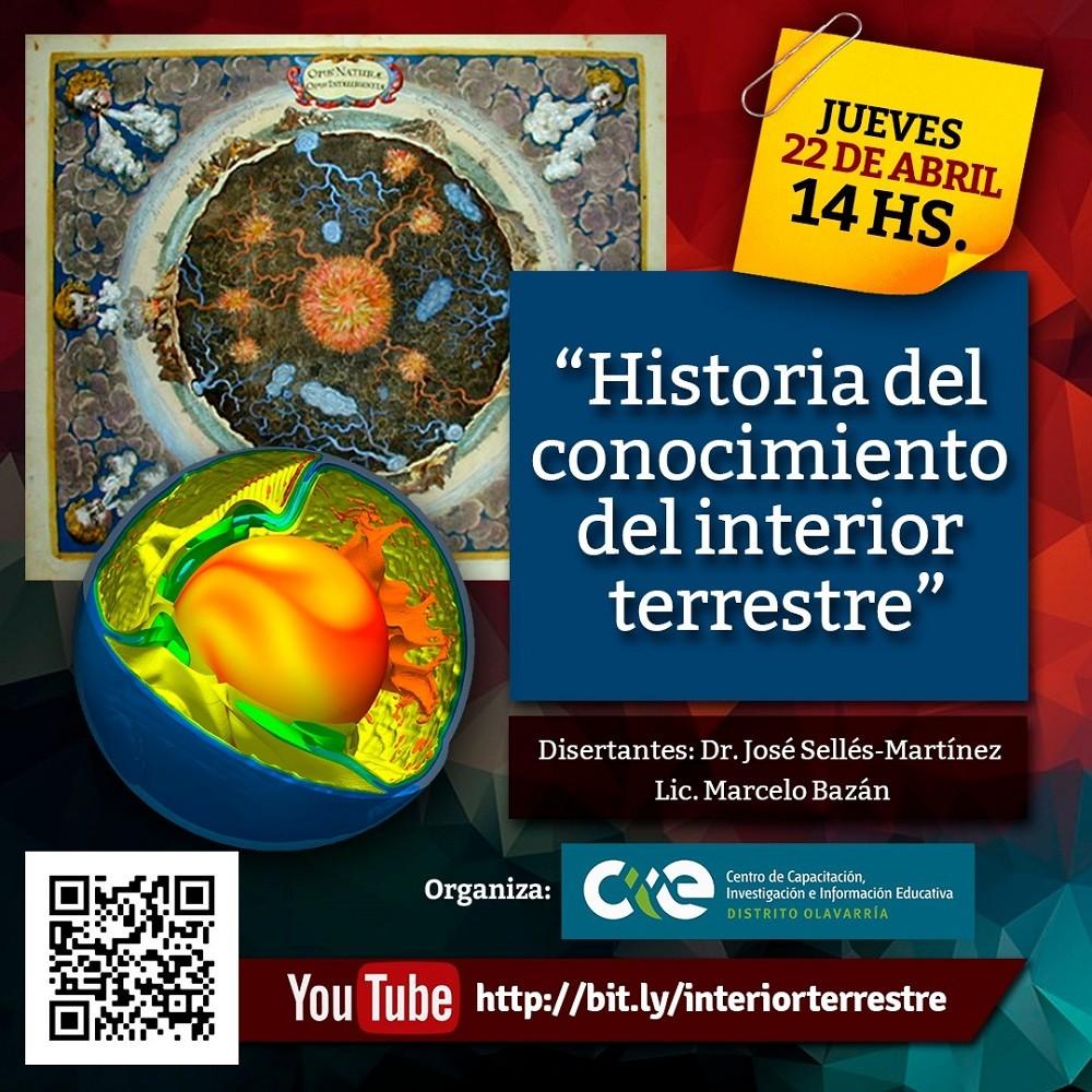 Conferencia sobre Historia del Interior Terrestre