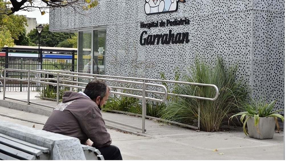 Las salas de coronavirus del Garrahan tienen una ocupación del 100%
