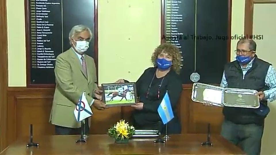 Turf: Yegua de Olavarría ganó en San Isidro